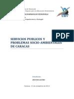Serviciós Públicos y Problemas Socio-Ambientales de Caracas
