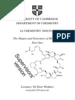 Cambridge natural sciences handout