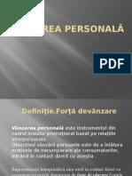Vânzarea personală