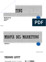 Miopia Del Marketing