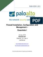 Edu-201 - Lab Manual Pan-os 5.0