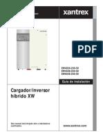 XANTREX XW6048 XW4548 XW4024 Manual Instalacion ES