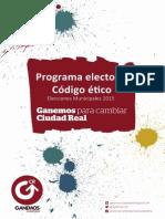 Programa Ganemos Ciudad Real