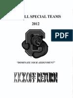2012 Cornell Special Teams