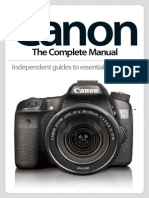Canon the Complete Manual 2014