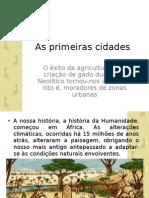 As primeiras cidades.ppt