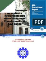 AEA_Aspectos Grls de La Nueva Regl Sobre Estac Transformadoras