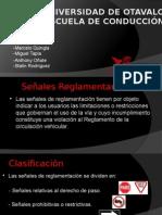 Presentacion de Señales Reglamentarias