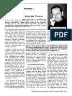 Westlicher Buddhismus – Nein, Danke - Buddhismus Und Die Kultur Des Westens - F-J Litsch