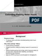 SFMTA Presentation on Extending Parking Meter Hours