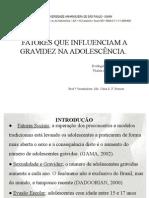 Fatores Que Influenciam a Gravidez Na Adolescência.pptx
