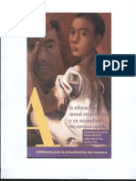 Educacion Moral en Primaria y Secu