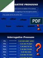 Interrogative Pronouns