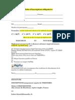 Bulletin d'Inscription v2
