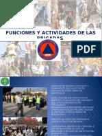 Funciones y Actividades de Las Brigadas