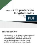 Obras de protección longitudinales