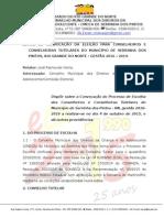 Edital Nº 001-2015 - Convocação Da Eleiçâo 2015 - Cmdca - Conselho Serrinha (1)
