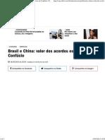 Brasil e China_ Valor Dos Acordos Está Nos Manuscritos de Confúcio