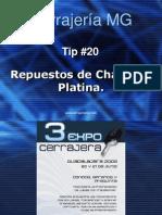 Tip 20 Repuestos Chapa Platina