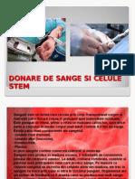 DONARE DE SANGE SI CELULE STEM.ppt