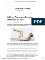 As Novas Regras Para Treinar Os Abdominais e o Core _ Functional Performance Training