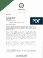 Attorney General's response to Luke Malek on minimum wage