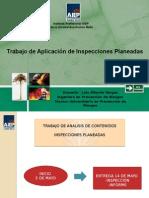 Trabajo de Aplicación (Inspeccion Planeada)