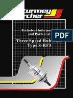 Sturmey-Archer SRF3 User Manual