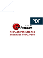 Regras Concurso Cosplay Animazon no Taikai 2015
