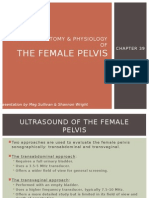 Normal anatomy and physiology of Female pelvis