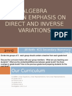 Directly and Inversely Proportional with teacher notes.ppt