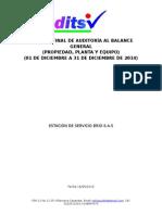 Informe Final de Auditoría Al Balance General