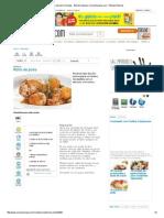 Rollo de Pollo, Recetas - Edición Impresa CocinaSemana