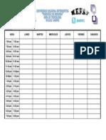 Formato de Horario MEFST