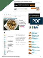 Alitas de Pollo a La Portuguesa, Recetas - CocinaSemana