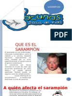Diapositivas de La Rubeola