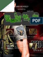 resident evil DS - Chris Redfield