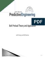 Bolt Preload-White Paper
