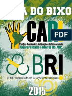 Guia do Bixo 2015 - CARI UFABC