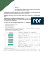 Resumen Capítulo VII - Capacitación y Desarrollo
