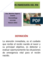 Atención Inmediata Del RN Expo Febrero 2015