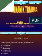 Biomekanika Trauma