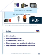 Tema 3- Automatismos Electricos y Neumaticos (1 de 2)