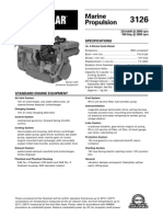 Spec Sheets - Cat 3126 Propulsion