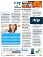 Pharmacy Daily for Wed 20 May 2015 - Doctors & nurses slam 6CPA, Asthma, Monash, Daivonex, New Products and more
