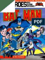 Batman Sourcenook - First Edition