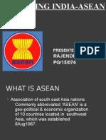 Enhancing India-Asean Trades