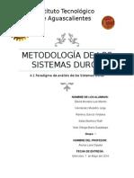 Metodología de Los Sistemas Duros