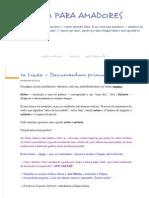 1ª Lição — Documentum Primum - Latim Para Amadores