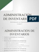 Administraciã_n de Inventarios 1